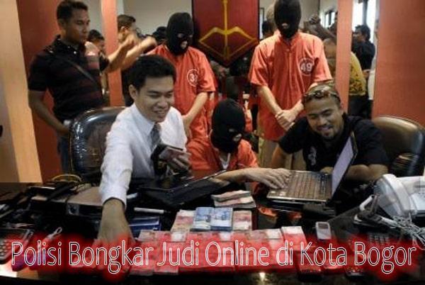 Polisi Bongkar Judi Online di Kota Bogor
